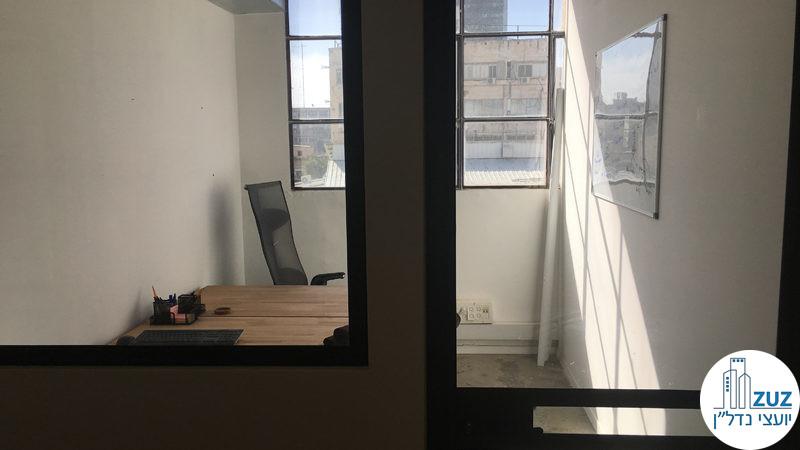 חדר במשרד בשכונת מונטיפיורי תל אביב