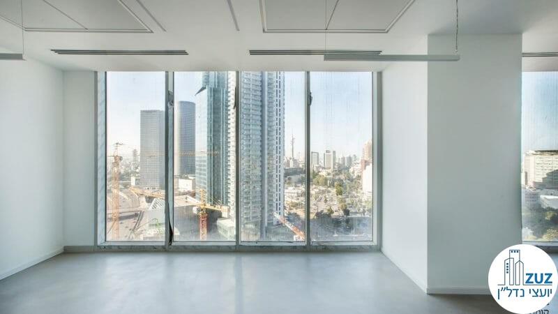 אופן ספייס במשרד במגדל we תל אביב