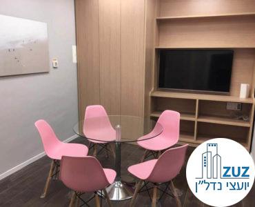חדר ישיבות במשרד במגדלי הארבעה תל אביב