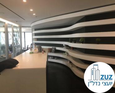 עמדת כניסה במשרד במגדל לוינשטיין תל אביב