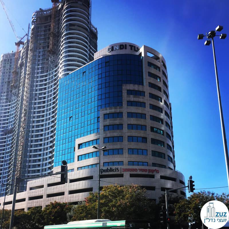 מגדל החשמונטים, רחוב החשמונאים 100 תל אביב