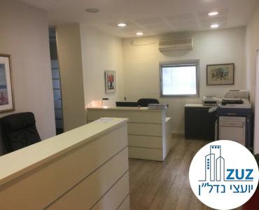 עמדות קבלה במשרד במתחם רוטשילד תל אביב