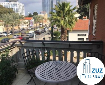 מרפסת במשרד במתחם הטמפלרים תל אביב