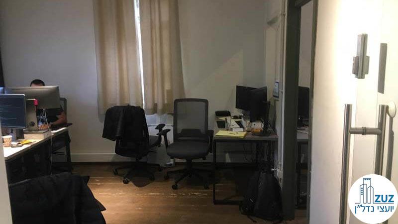 חדר עבודה במשרד במתחם הטמפלרים תל אביב