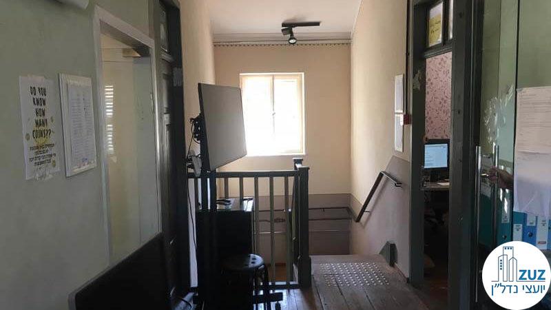 מסדרון במשרד במתחם הטמפלרים תל אביב