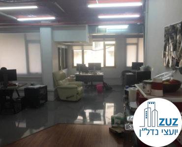 אופן ספייס מרוהט במשרד בשכונת מונטיפיורי תל אביב