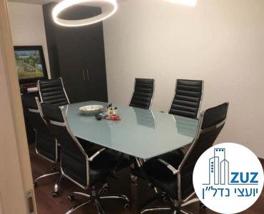 חדר ישיבות במשרד בבית אסיה תל אביב