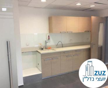 מטבחון במשרד במגדל היובל תל אביב