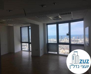 אופן ספייס במשרד במגדל היובל תל אביב
