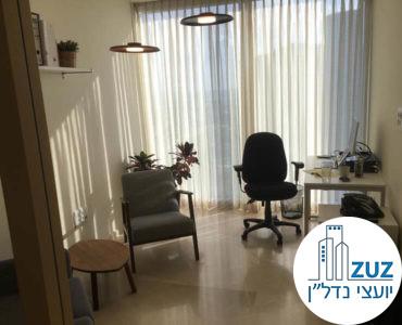 חדר מרוהט במשרד במגדל מידטאון תל אביב