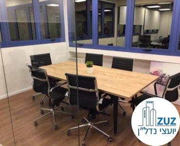 חדר ישיבות במשרד בשכונת מונטיפיורי תל אביב
