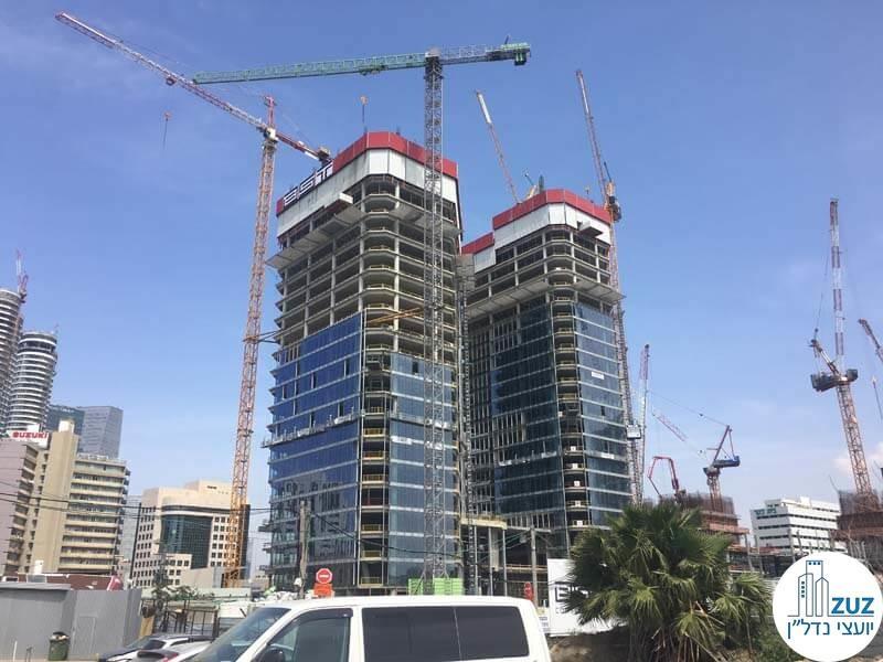 מחירי משרדים להשכרה בתאומי רובינשטיין תל אביב