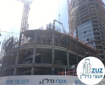 מגדל אקרו, פינת המסגר ויצחק שדה תל אביב
