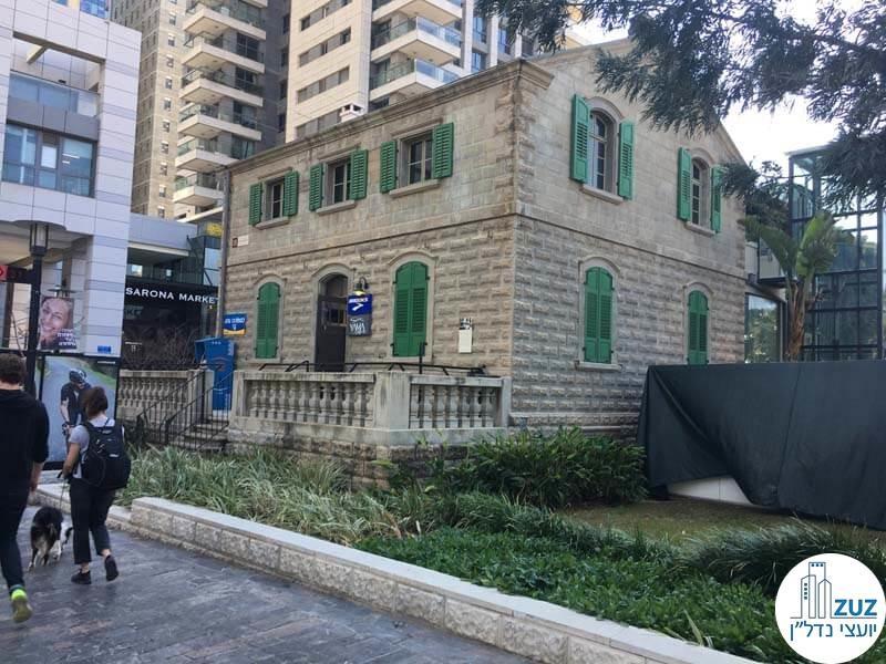 מבנה טמפלרי בשרונה תל אביב