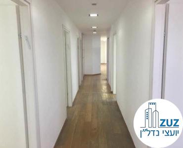 מסדרון במשרד בבית יעבץ תל אביב