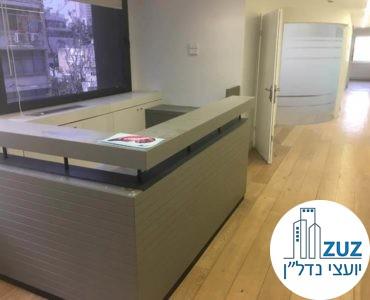 עמדת קבלה במשרד בבית יעבץ תל אביב