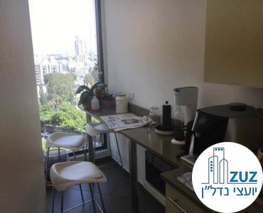 מטבחון במשרד במגדל אמות השקעות תל אביב
