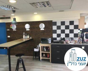 מטבחון במשרד בבית בי.אס תל אביב