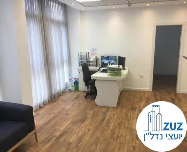 עמדת קבלה במשרד ברחוב קרליבך תל אביב