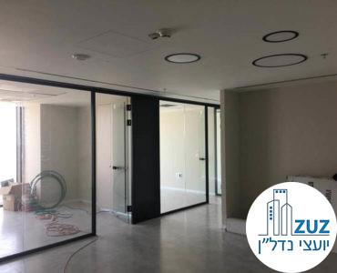 עמדת כניסה במשרד במגדל מידטאון תל אביב
