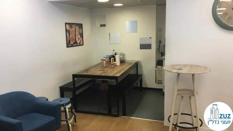 פינת אוכל במשרד בנחלת יצחק תל אביב
