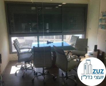 חדר ישיבות במשרד ברחוב הירקון תל אביב