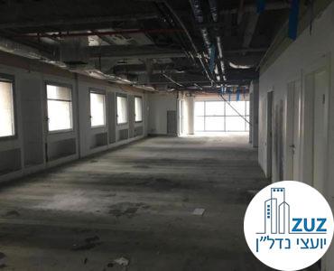 משרד ברמת מעטפת במגדל פלטינום תל אביב