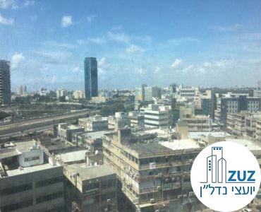 נוף ממשרד במגדל ספיר בבורסה רמת גן