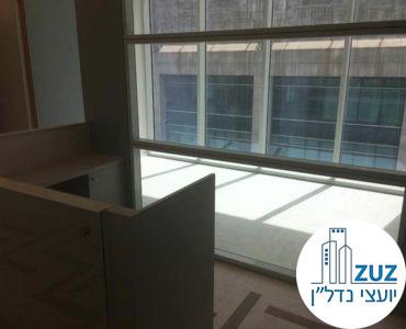 חדר ישיבות במשרד במגדל ויי תל אביב