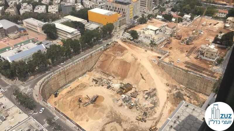 תחילת עבודות במגדל Landmark TLV תל אביב