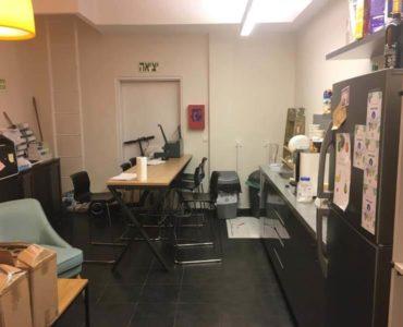 מטבחון במשרד במגדל אדגר 360 תל אביב