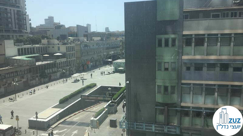 נוף ממשרד במגדל חג'ג' הארבעה תל אביב