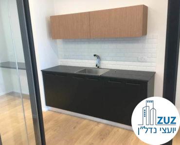 מטבחון במשרד במגדל הארבעה צפוני תל אביב