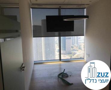 חדר ישיבות במשרד במגדל מידטאון תל אביב