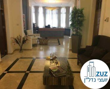 פינת כניסה במשרד בשדרות רוטשילד תל אביב