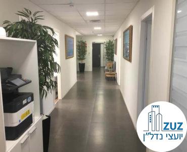 מסדרון במשרד ברחוב השרון תל אביב