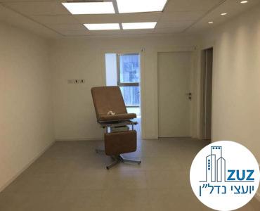פינת כניסה בקליניקה בבית הרופאים תל אביב