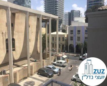 נוף לבית הכנסת הגדול במשרד ברחוב הר סיני תל אביב