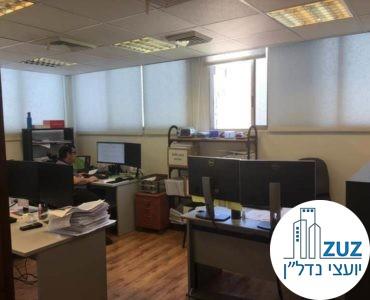 אופן ספייס במשרד בשכונת מונטיפיורי תל אביב