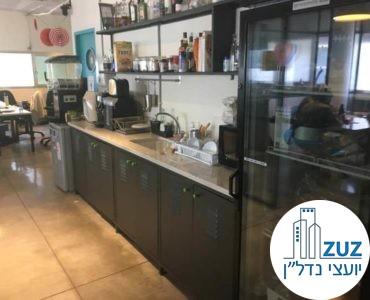 מטבחון במשרד בבית הסגול תל אביב