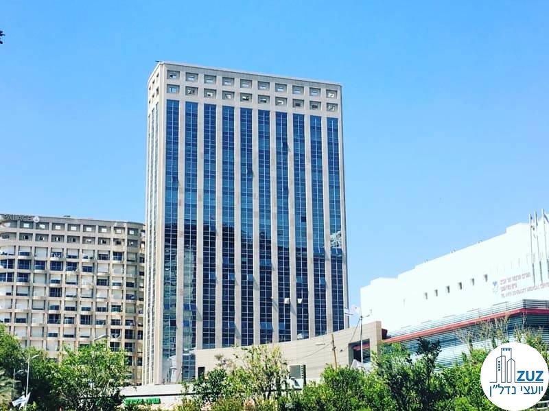 משרדים להשכרה לרופאים במגדל ויצמן תל אביב
