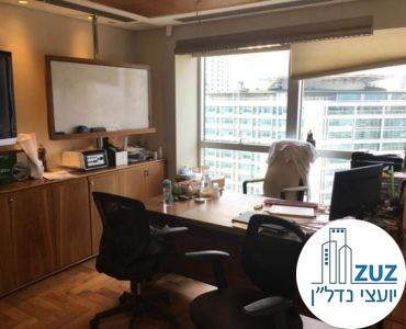 חדר מנהלים במשרד במגדל ויצמן תל אביב