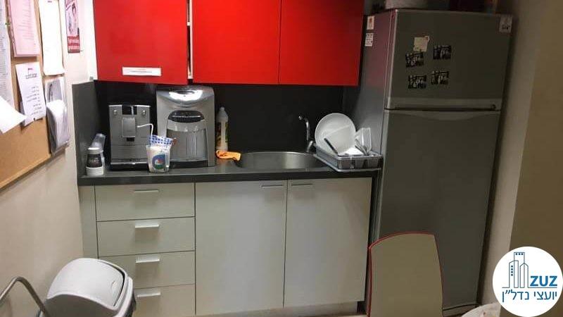 מטבחון במשרד במגדל ויצמן תל אביב