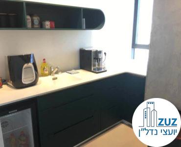 מטבחון במשרד במגדלי אלון תל אביב