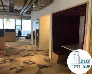 אופן ספייס במשרד במגדלי אלון תל אביב