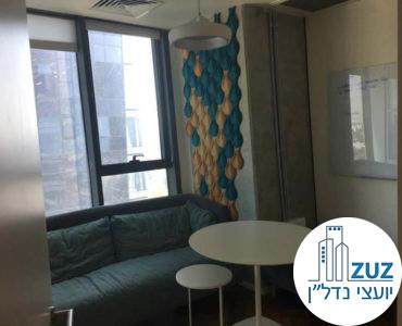 חדר מנוחה במשרד במגדלי אלון תל אביב