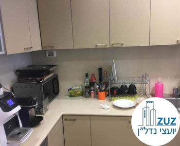 מטבחון במשרד במגדל עזיראלי משולש תל אביב