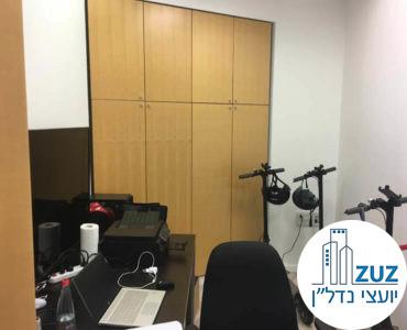 חדר במשרד במגדל עזיראלי משולש תל אביב