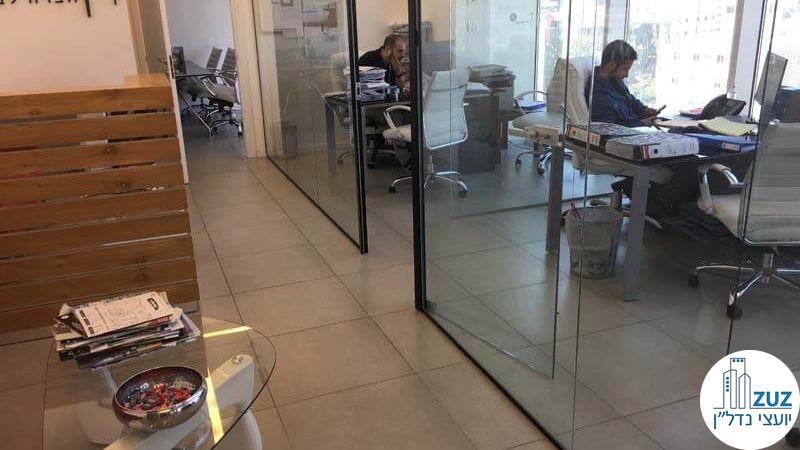 אופן ספייס במשרד במגדל אלקטרה סיטי תל אביב