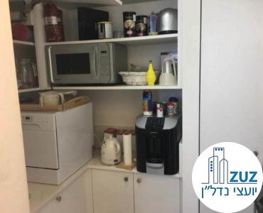 מטבחון במשרד במגדל אלקטרה סיטי תל אביב